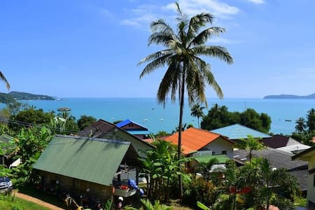 Beautiful Sea view with Nice garden - Phuket Thailand - Leilighet