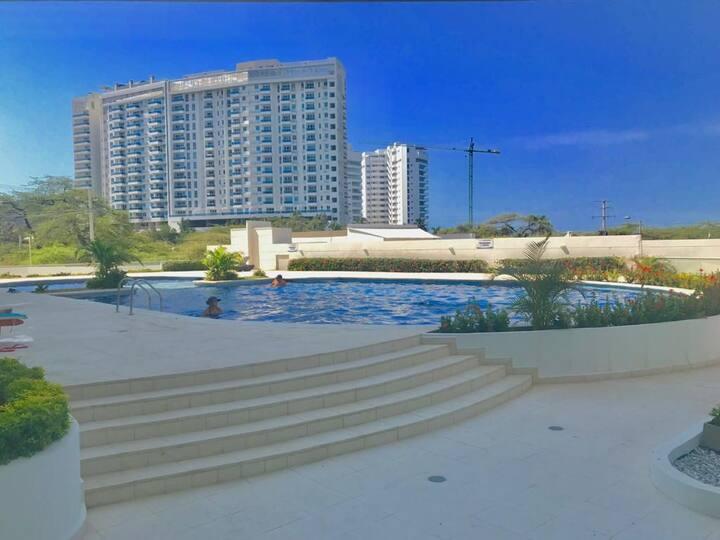 Apartamento Nuevo Aragoa playa salguero Rodadero