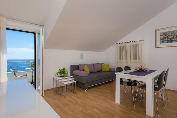 Hvar Milna Panoramic view apartment