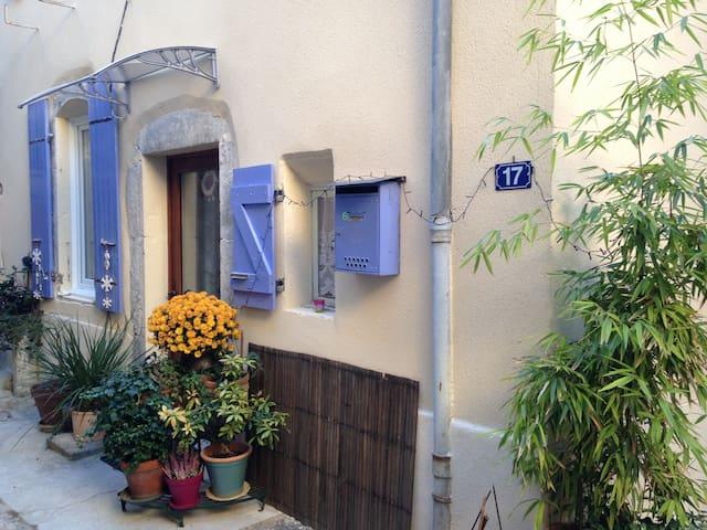 Saillans , petite maison agréable fraîche et calme - Saillans