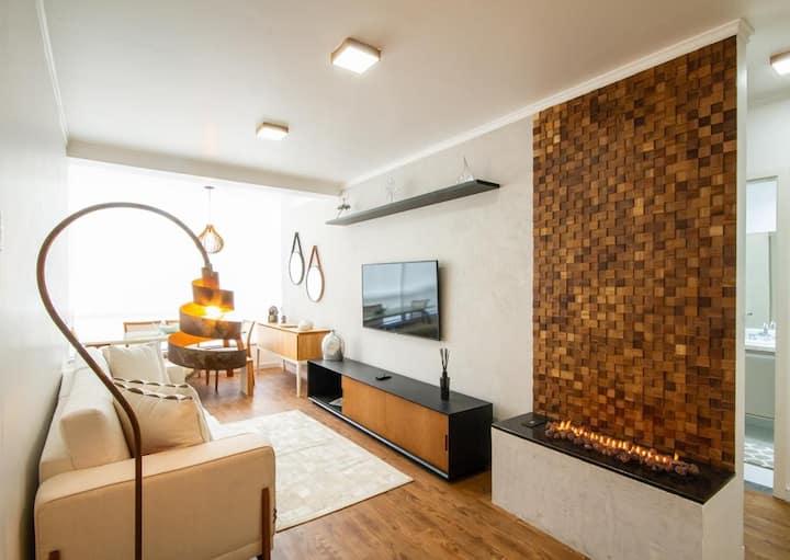 Lindo Apartamento Condomínio Gaudi Loft Design 01