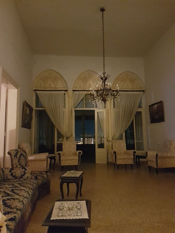 Rooms in centenary Lebanese house In byblos