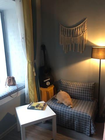 阳光大床 庭院小憩 不一样的手工创意体验民宿