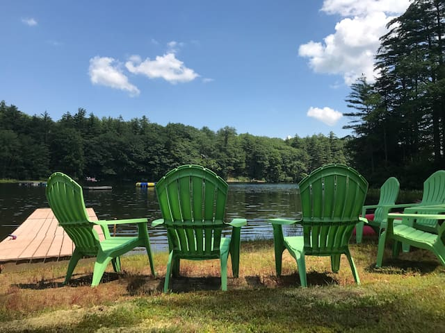 Lakeside Lodge - a waterfront home on Lake Winona