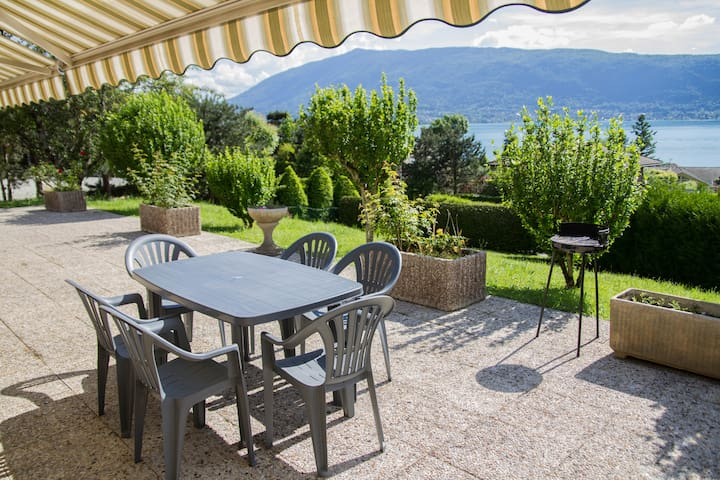 VEYRIER DU LAC - T3/villa superbe vue lac d'Annecy - Veyrier-du-Lac - Rumah