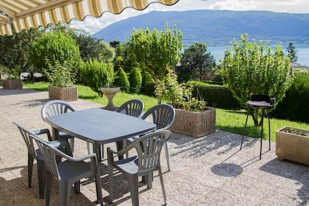 VEYRIER DU LAC - T3/villa superbe vue lac d'Annecy - Veyrier-du-Lac
