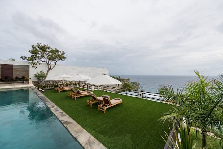 1 Bedroom Shared Villa On the Cliff - Ocean View