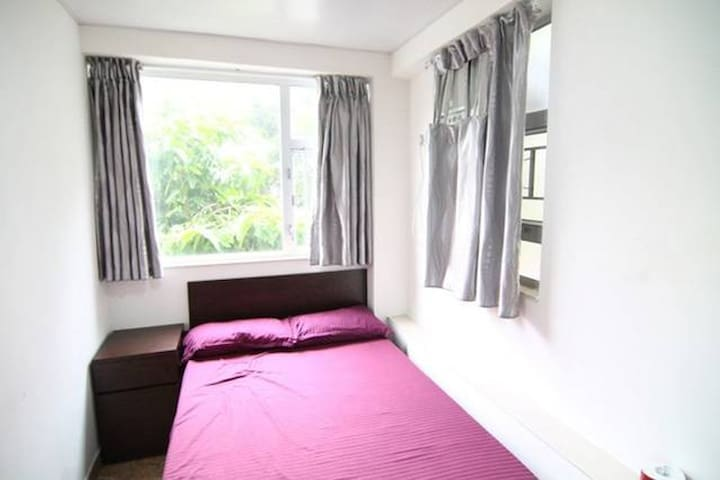Bright sunny room 3-min-walk to MTR *C