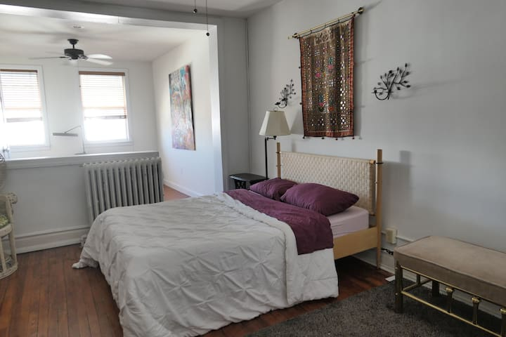 Oak Street master bedroom