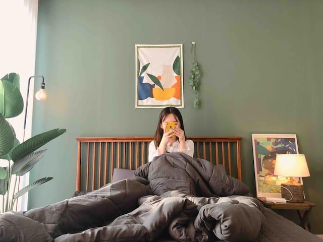 녹색가득, 속초에서의 감성사진은, 망고할머니의 게스트하우스에서 남기세요 :-)