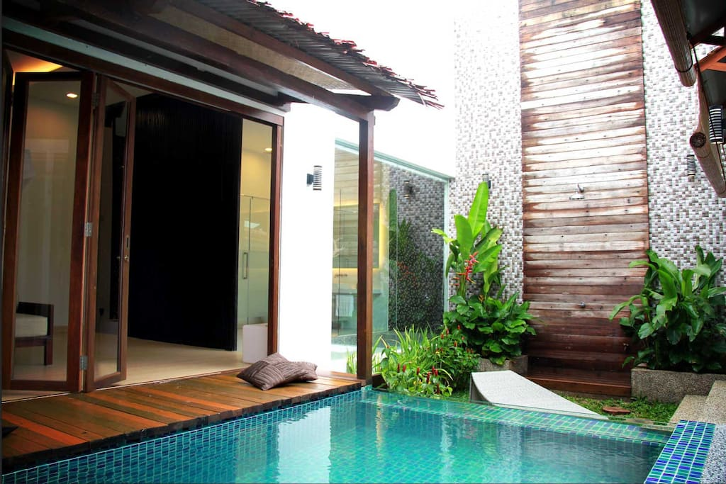 The Private Pool with Private Garden