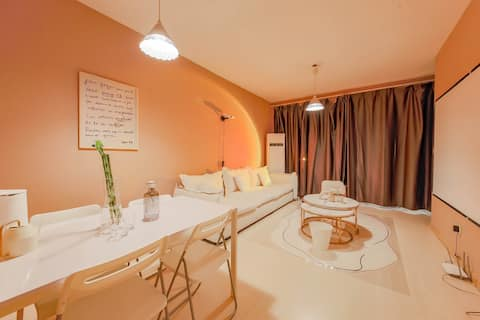 【 Force Town - Hidden 】 China Trade CBD Heshenghui Bay Happy Valley Sanlitun Private Bedroom/Private Bathroom/Long Term Rental Advisory/Near MRT