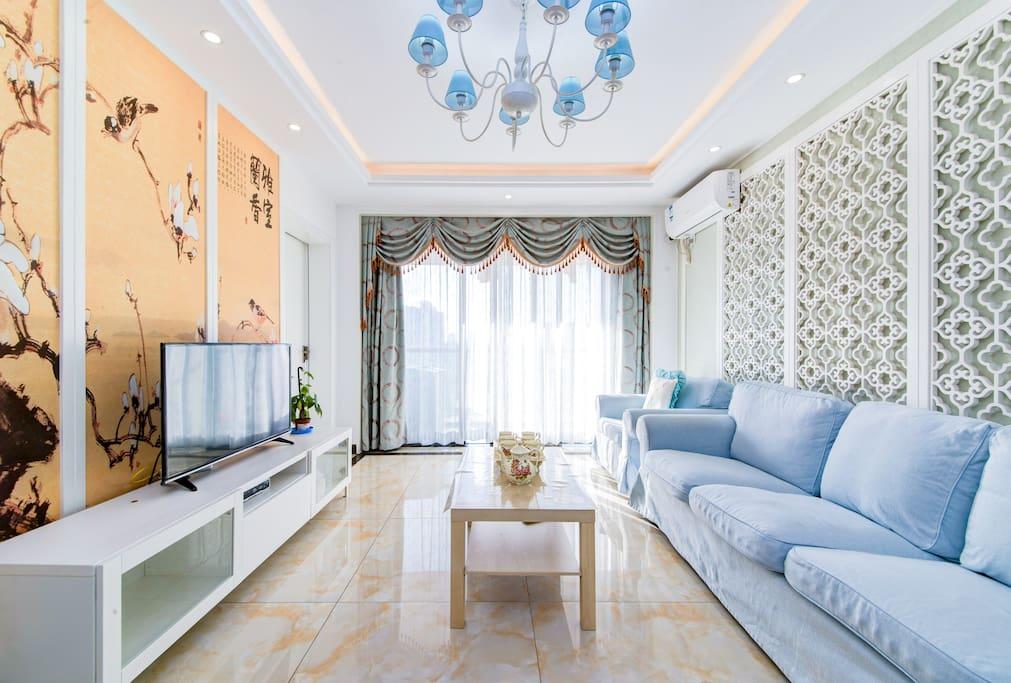 漂亮诗情画意的客厅