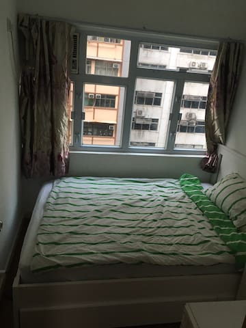 Cozy Room 1 min to Wanchai MTR Station