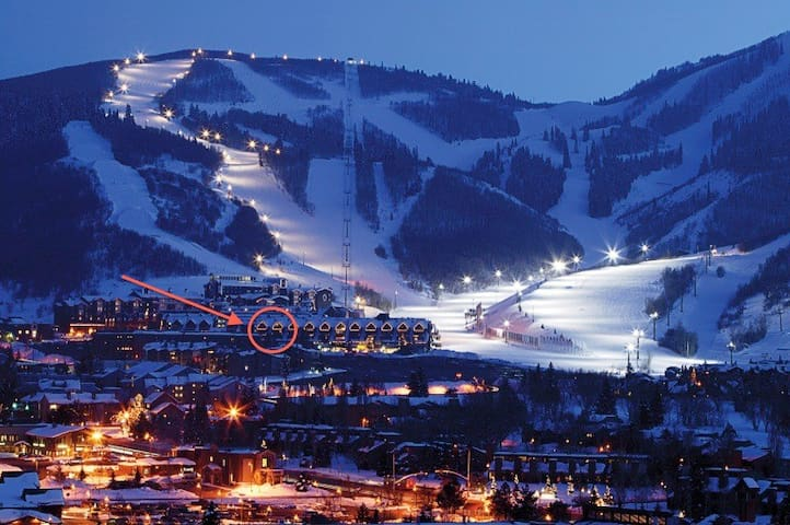 Ski-in Ski-out Park City Mountain Resort Studio! - Park City - Departamento