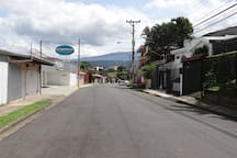 Calle Eloy Alfaro, road where the apartment is located