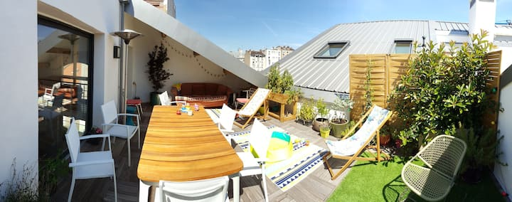 Modern and family loft in Parisian east