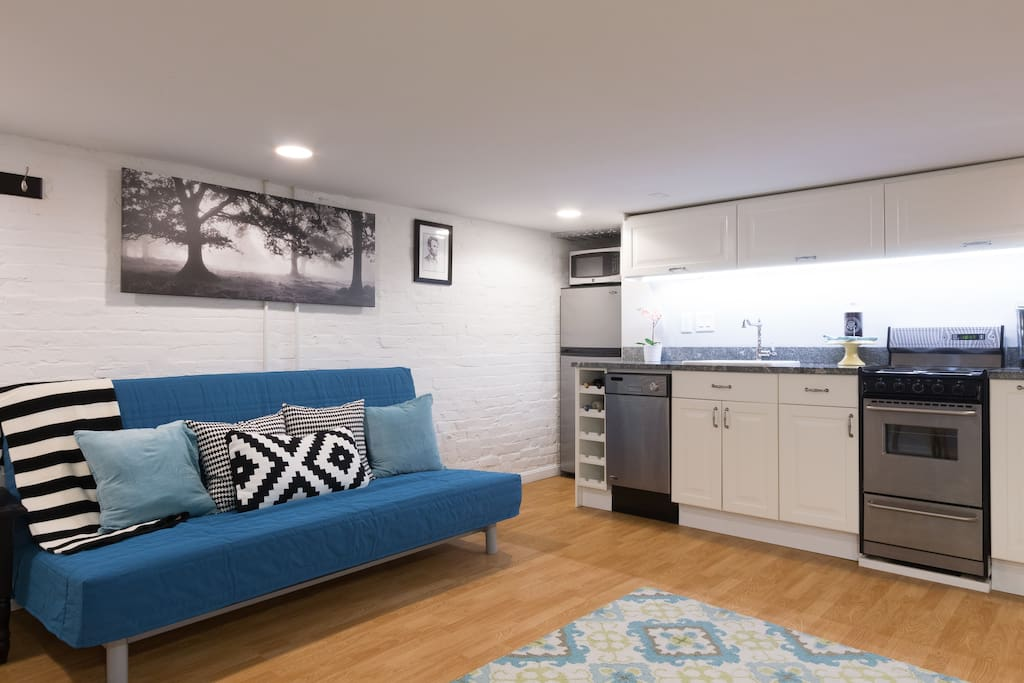 stunning capitol hill english basement apartment apartments for rent