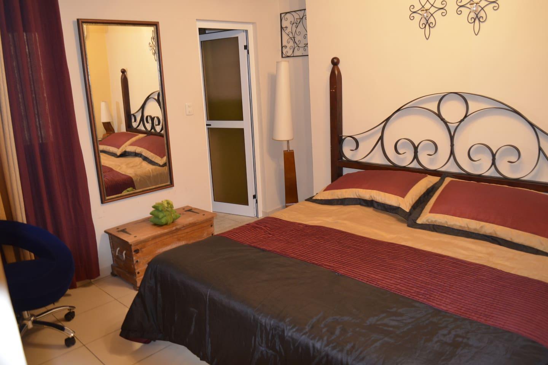 Bedroom at Casa Lizette - Bungalow 2