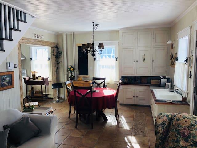 Havre du Golf - Maison champêtre et chaleureuse