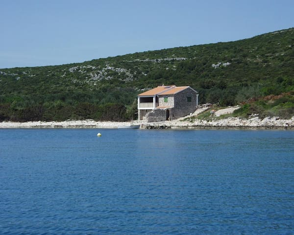 Three bedroom house near beach Soline, Pašman (K-499)
