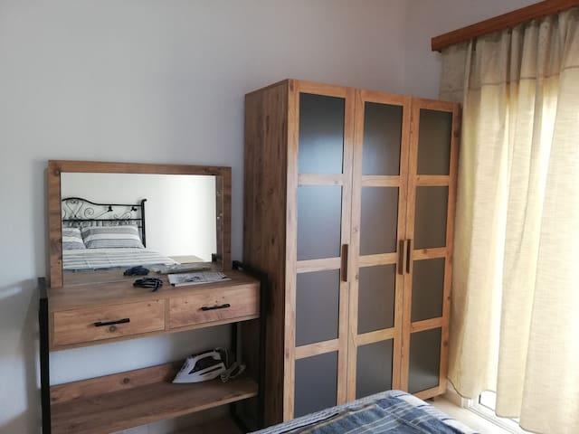 2 kişilik binamızın yatak odası