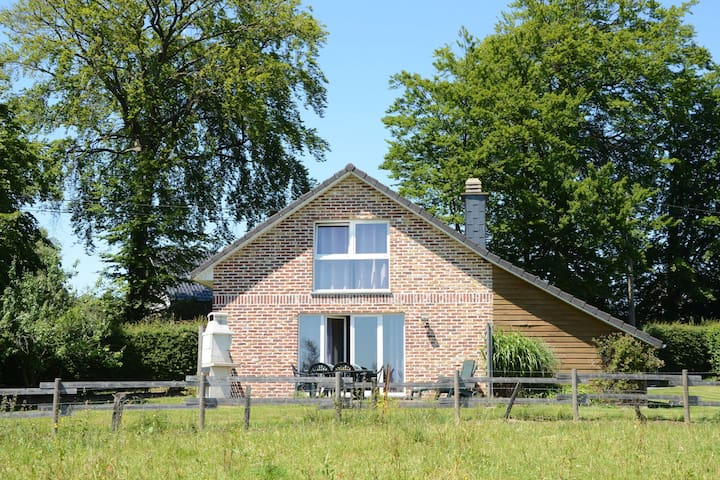 Beautiful holiday home located at the edge of a nature reserve