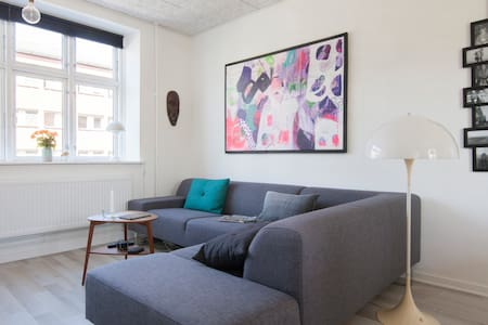 Newly renovated flat with balcony - Frederiksberg - Apartment