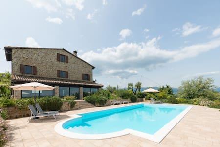 Il Picchio Verde Apartment-Jasmine- - Sant'Angelo in Pontano