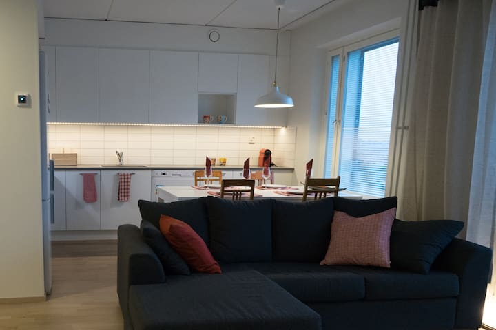Beautiful new apartment in Tuusula