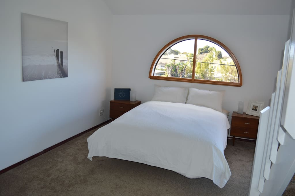Beautiful coastal views from master bedroom
