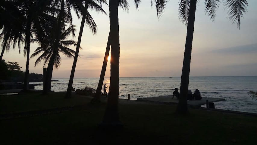 Anyer hidden beauty, enjoy perfect sunset seaview