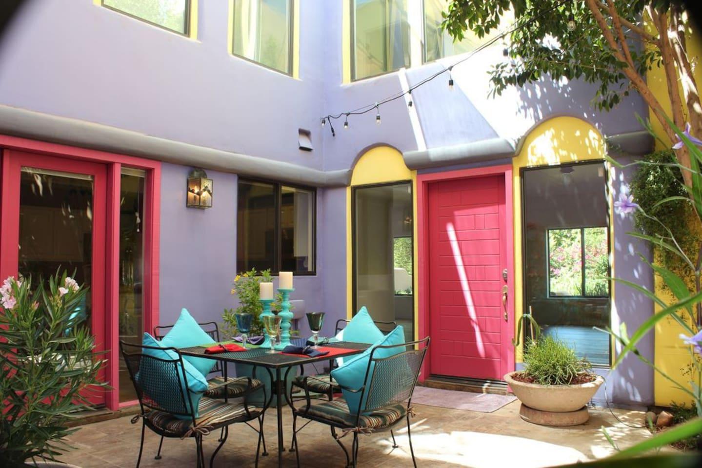 master suite in amazing santa fe casita near asu houses for rent