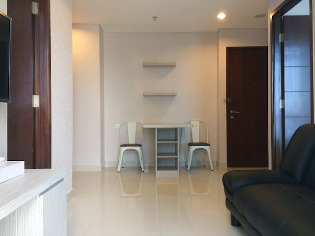 2 Rooms Apartment at Central Jakarta (Salemba)