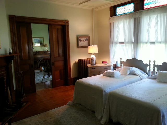 """Historic c.1880 Victorian at """"The Pownal Fork"""""""