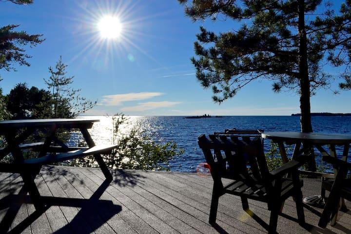 Appartement chaleureux au bord du Lac St-Jean
