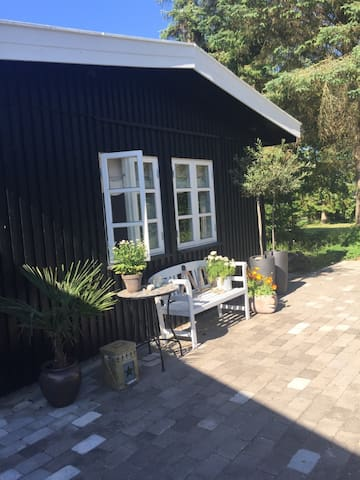 Cozy house close to the beach - Dronningmølle - Trädhus