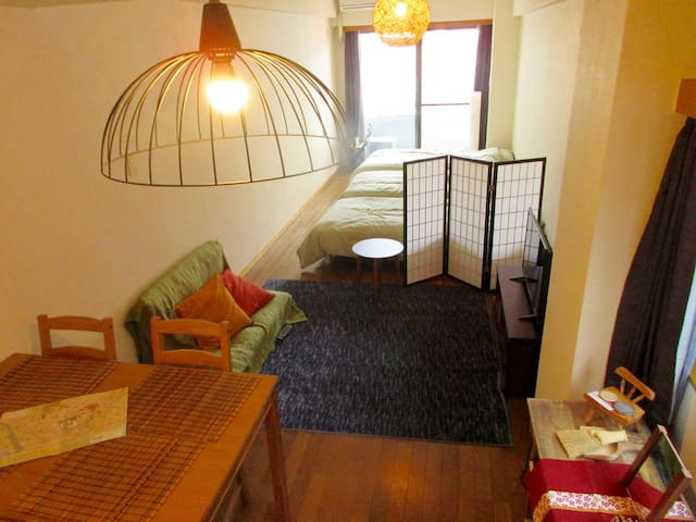 5minutes from sta. Hakone &Odawara sweet room - 小田原市 - Apartemen