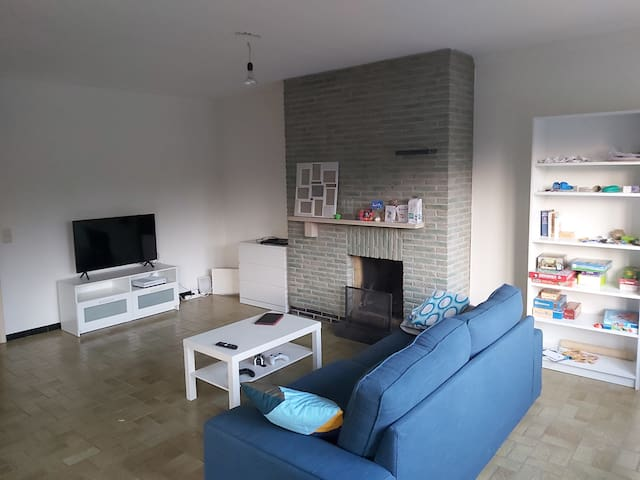 Large 3 bedroom apartment nearby city center Ghent