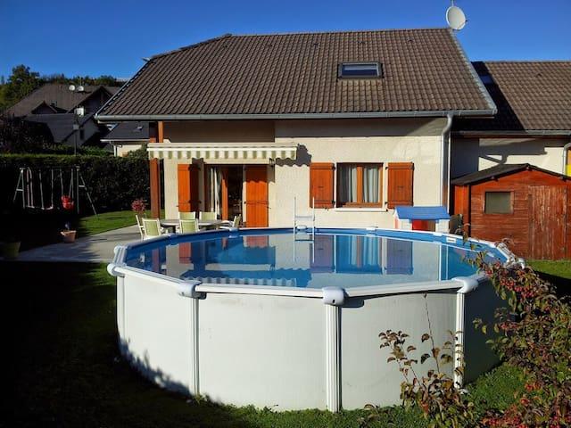 Maison 6 à 8 personnes avec piscine - Argonay - Maison
