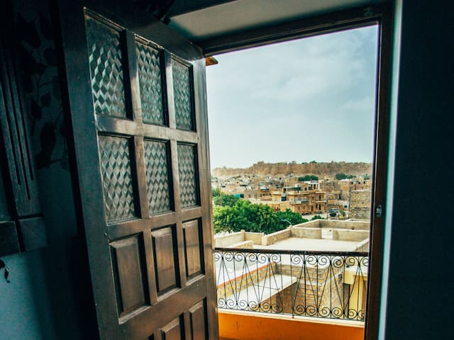 Fort View Room at sunset point Jaisalmer
