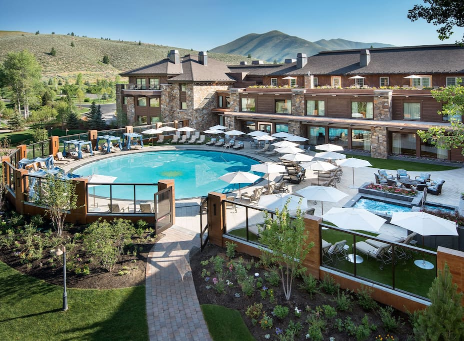 Access to the Lodge Pool included in your rental, open all year.