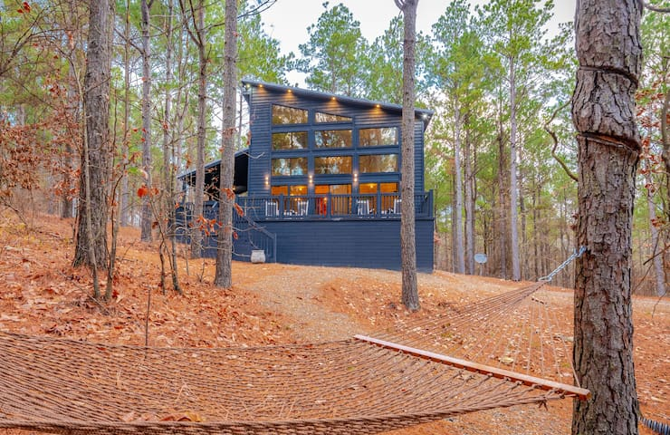 NATURE COTTTAGE HIGH LUXE Modern Cabin Located in the Beautiful Southern Hills! MINS away from Beavers Bend!