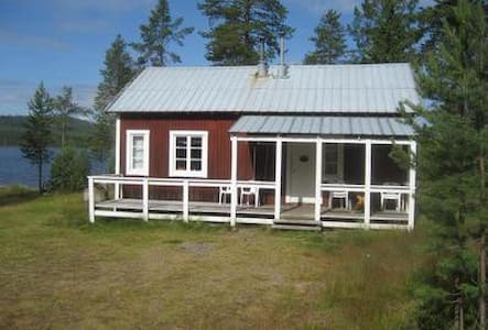 Beautiful typical Swedish cottage just meters from the lake, pet friendly