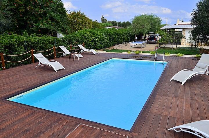 Villetta Ambra con piscina Alto Salento