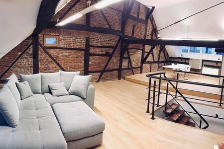 Duplex 2 chambres au cœur historique de Liege