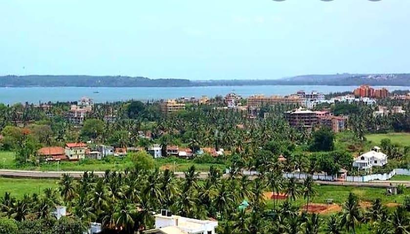 3bhk sea view apartment in Dona Paula