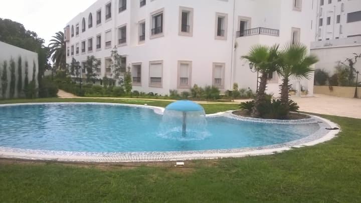 tranquillité de l'appart et le luxe de l'hôtel