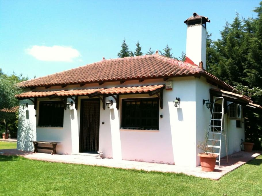 the little house in dilesi melzzz place cottages for rent in dilesi greece. Black Bedroom Furniture Sets. Home Design Ideas