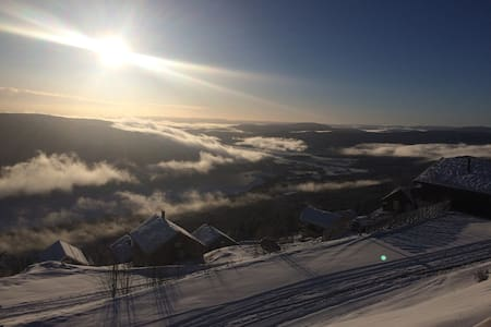 Nybygget leilighet med ski in/out - Norefjell - Бунгало